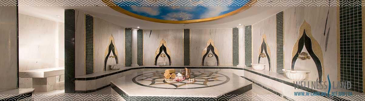 Отделка хамама (турецкой бани)