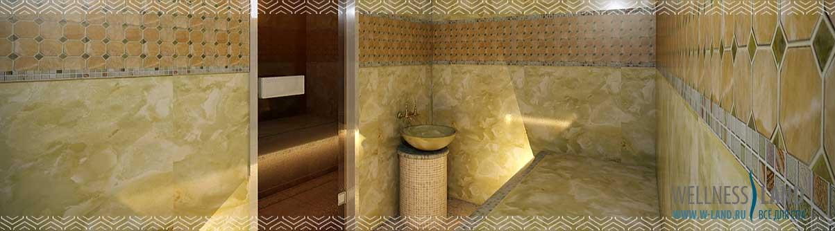 Проектирование хамама (турецкой бани)