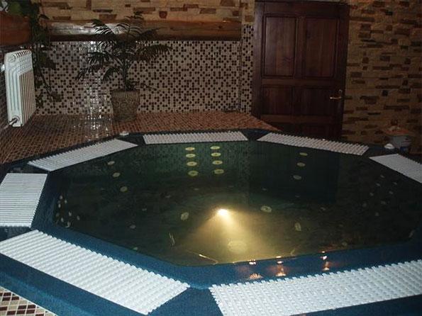 Переливной спа бассейн AQUASAN BETA LUX
