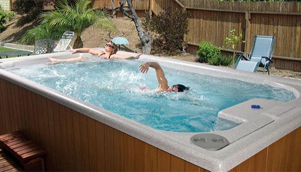 Плавательный спа бассейн SWIM SPA 15