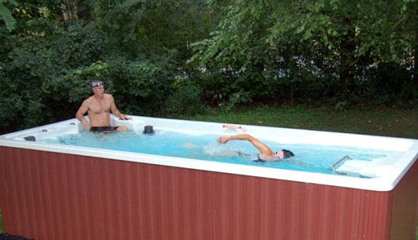 Плавательный спа бассейн SWIM SPA 17