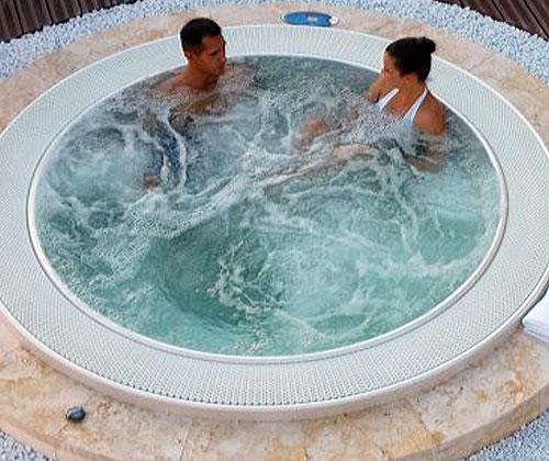 Переливной спа бассейн Jacuzzi ALIMIA