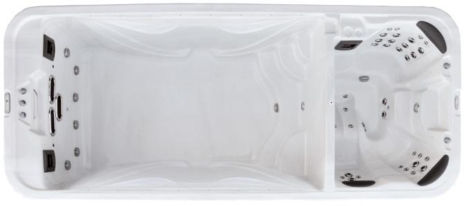 Плавательный спа бассейн Premium Leisure SWIMMER 18 Dual Zone