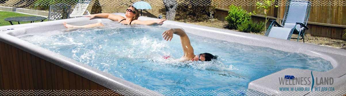 Плавательные бассейны спа