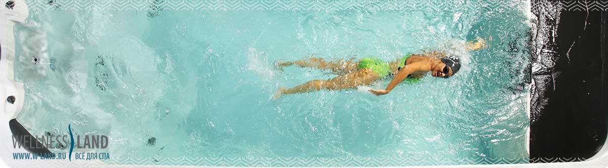 Плавательные бассейны с противотоком купить