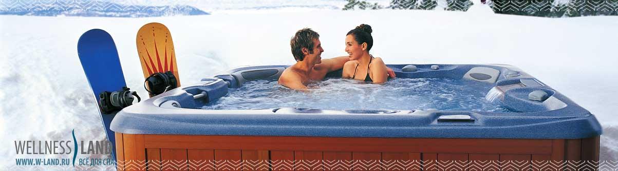 гидромассажный спа бассейн