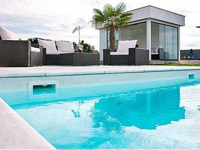 строительство бетонных скимерных бассейнов
