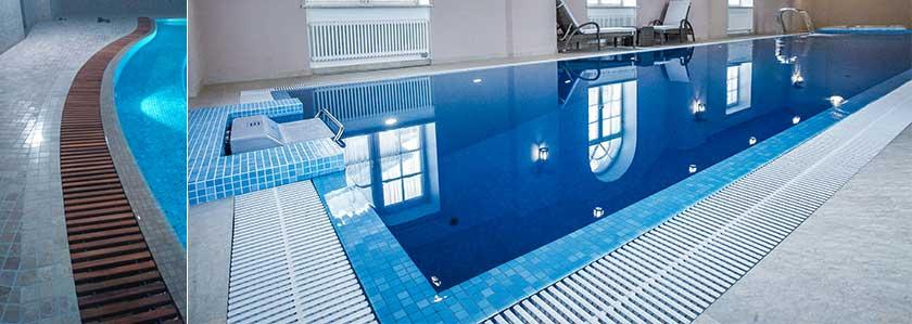 строительство переливных бетонных бассейнов