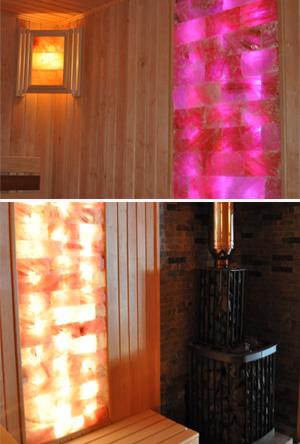 Освещение в сауну и баню