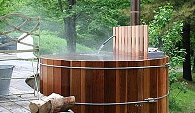 строительство японской бани офуро