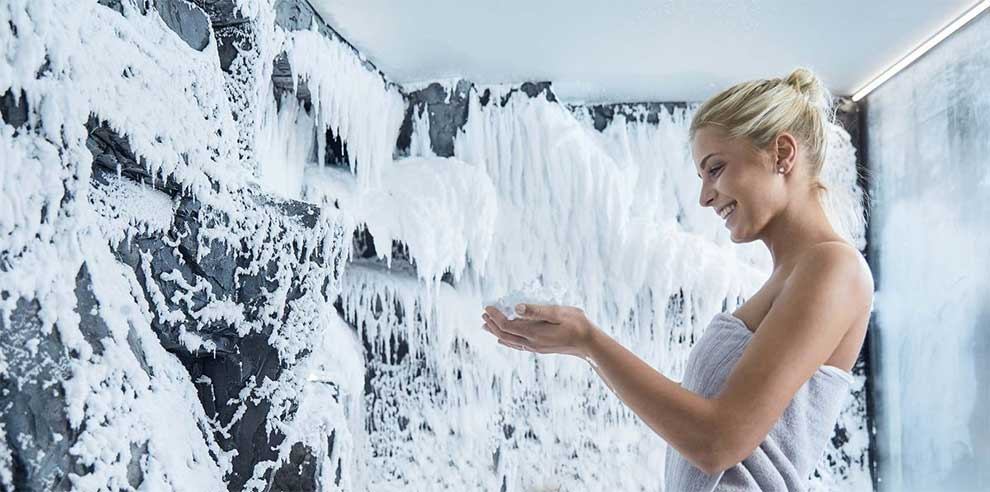 Снегогенератор в СПА